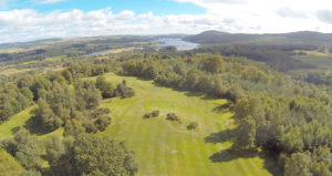 New Galloway golf course in South od Scotland